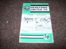 Hereford United v Gravesend, 1971/72